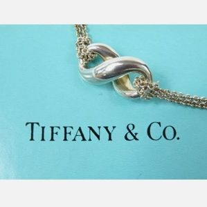 Tiffany & Co. Infinity Double Chain Necklace